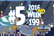 Angry Birds Friends 2016 Space Tournament Level 5 Week 199 Walkthrough