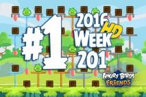 Angry Birds Friends 2016 Tournament Level 1 Week 201 Walkthrough