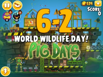 Angry Birds Seasons Pig Days Chapter 6 Level 6-2