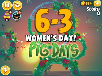 Angry Birds Seasons Pig Days Chapter 6 Level 6-3
