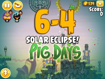Angry Birds Seasons Pig Days Chapter 6 Level 6-4