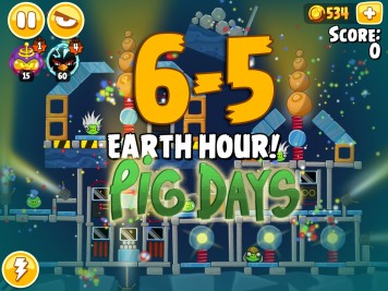 Angry Birds Seasons Pig Days Chapter 6 Level 6-5
