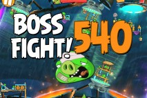 Angry Birds 2 Boss Fight Level 540 Walkthrough – Bamboo Forest Gravity Grove