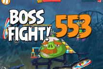 Angry Birds 2 Boss Fight Level 553 Walkthrough – Pig City The Pig Apple