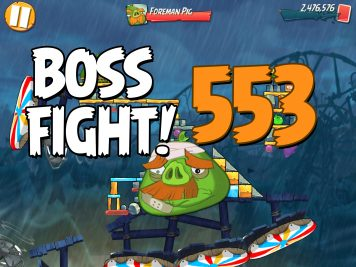 Angry Birds 2 Boss Fight Level 553