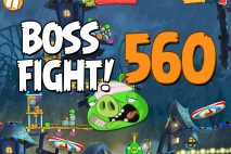Angry Birds 2 Boss Fight Level 560 Walkthrough – Pig City The Pig Apple
