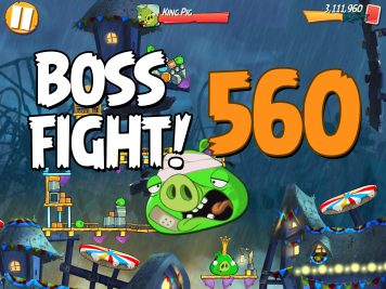 Angry Birds 2 Boss Fight Level 560