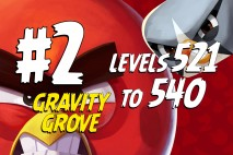 Angry Birds 2 Levels 521 to 540 Gravity Grove 3-Star Walkthrough – Bamboo Forest