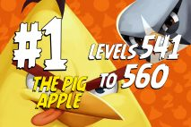 Angry Birds 2 Levels 541 to 560 The Pig Apple 3-Star Walkthrough – Pig City