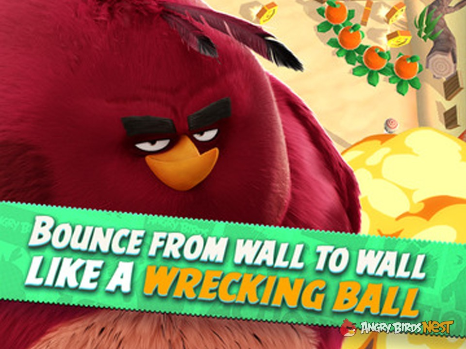 Angry Birds Action Character Terence the wreking ball