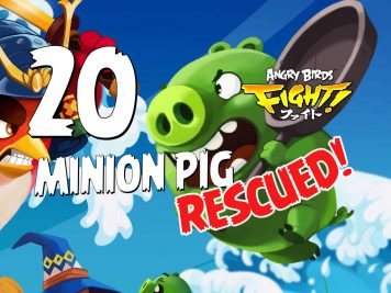 Angry Birds Fight! Minion Pig Rescued!
