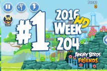 Angry Birds Friends 2016 Tournament Mania II-1 Level 1 Week 204 Walkthrough