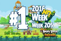 Angry Birds Friends 2016 Tournament Level 1 Week 205 Walkthrough