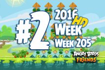 Angry Birds Friends 2016 Tournament Level 3 Week 205 Walkthrough