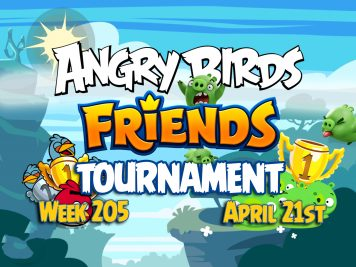 Angry Birds Friends Tournament week 205 Feature Image