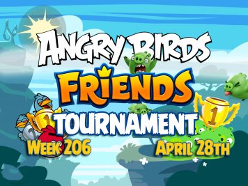 Angry Birds Friends Tournament week 206 Feature Image