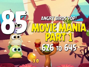 Angry Birds POP! Part 85 Movie Mania Part 1