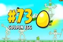 Angry Birds Seasons Marie Hamtoinette Golden Egg #73 Walkthrough