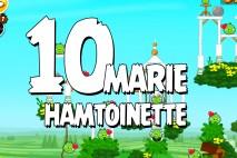 Angry Birds Seasons Marie Hamtoinette Level 1-10 Walkthrough