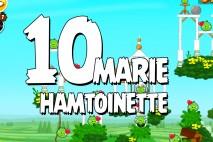 Angry Birds Seasons Marie Hamtoinette Level 1-10 Walkthrough