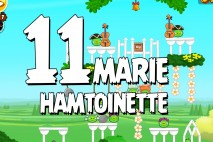 Angry Birds Seasons Marie Hamtoinette Level 1-11 Walkthrough