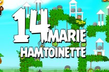 Angry Birds Seasons Marie Hamtoinette Level 1-14 Walkthrough