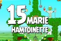 Angry Birds Seasons Marie Hamtoinette Level 1-15 Walkthrough