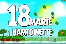Angry Birds Seasons Marie Hamtoinette Level 1-18 Walkthrough