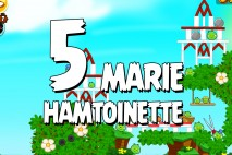 Angry Birds Seasons Marie Hamtoinette Level 1-5 Walkthrough