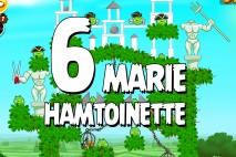 Angry Birds Seasons Marie Hamtoinette Level 1-6 Walkthrough