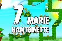 Angry Birds Seasons Marie Hamtoinette Level 1-7 Walkthrough