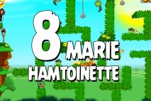 Angry Birds Seasons Marie Hamtoinette Level 1-8 Walkthrough