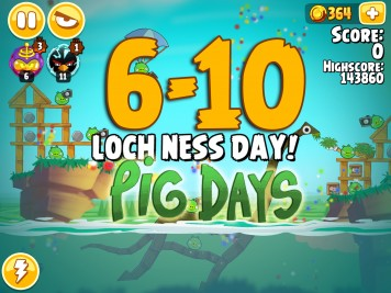 Angry Birds Seasons The Pig Days Level 6-10