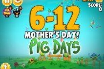 Angry Birds Seasons The Pig Days Level 6-12 Walkthrough | Mother's Day!
