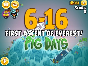 Angry Birds Seasons The Pig Days Level 6-16