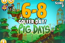 Angry Birds Seasons The Pig Days Level 6-8 Walkthrough | Golfer Day!