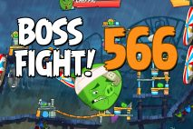 Angry Birds 2 Boss Fight Level 566 Walkthrough – Pig City The Pig Apple