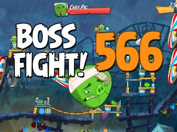 Angry Birds 2 Boss Fight Level 566