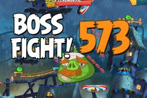 Angry Birds 2 Boss Fight Level 573 Walkthrough – Pig City The Pig Apple
