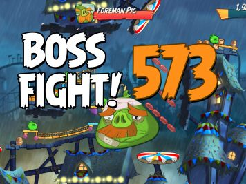 Angry Birds 2 Boss Fight Level 573