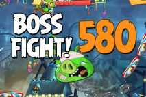 Angry Birds 2 Boss Fight Level 580 Walkthrough – Pig City The Pig Apple