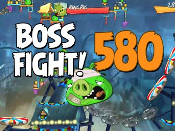 Angry Birds 2 Boss Fight Level 580
