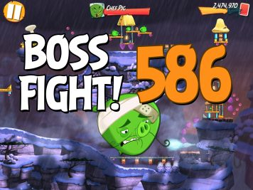 Angry Birds 2 Boss Fight Level 586