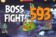 Angry Birds 2 Boss Fight Level 593 Walkthrough – Cobalt Plateaus The Hamalayas