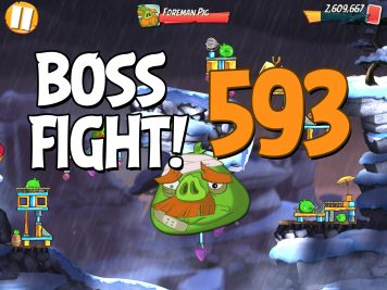 Angry Birds 2 Boss Fight Level 593