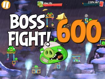 Angry Birds 2 Boss Fight Level 600