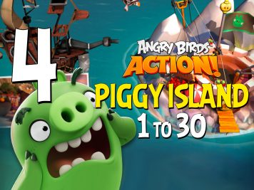 Angry Birds Action! Part 4 - Levels 1 to 30 - Piggy Island