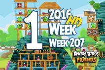 Angry Birds Friends 2016 Tournament Level 1 Week 207 Walkthrough