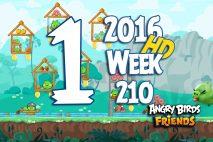 Angry Birds Friends 2016 Tournament Level 1 Week 210 Walkthrough