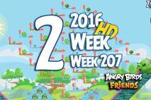 Angry Birds Friends 2016 Tournament Level 2 Week 207 Walkthrough